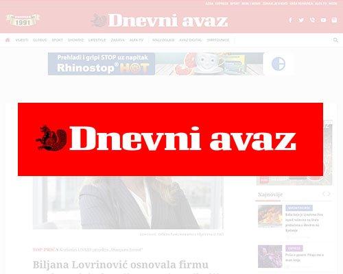 Bosnian news portal avaz.ba